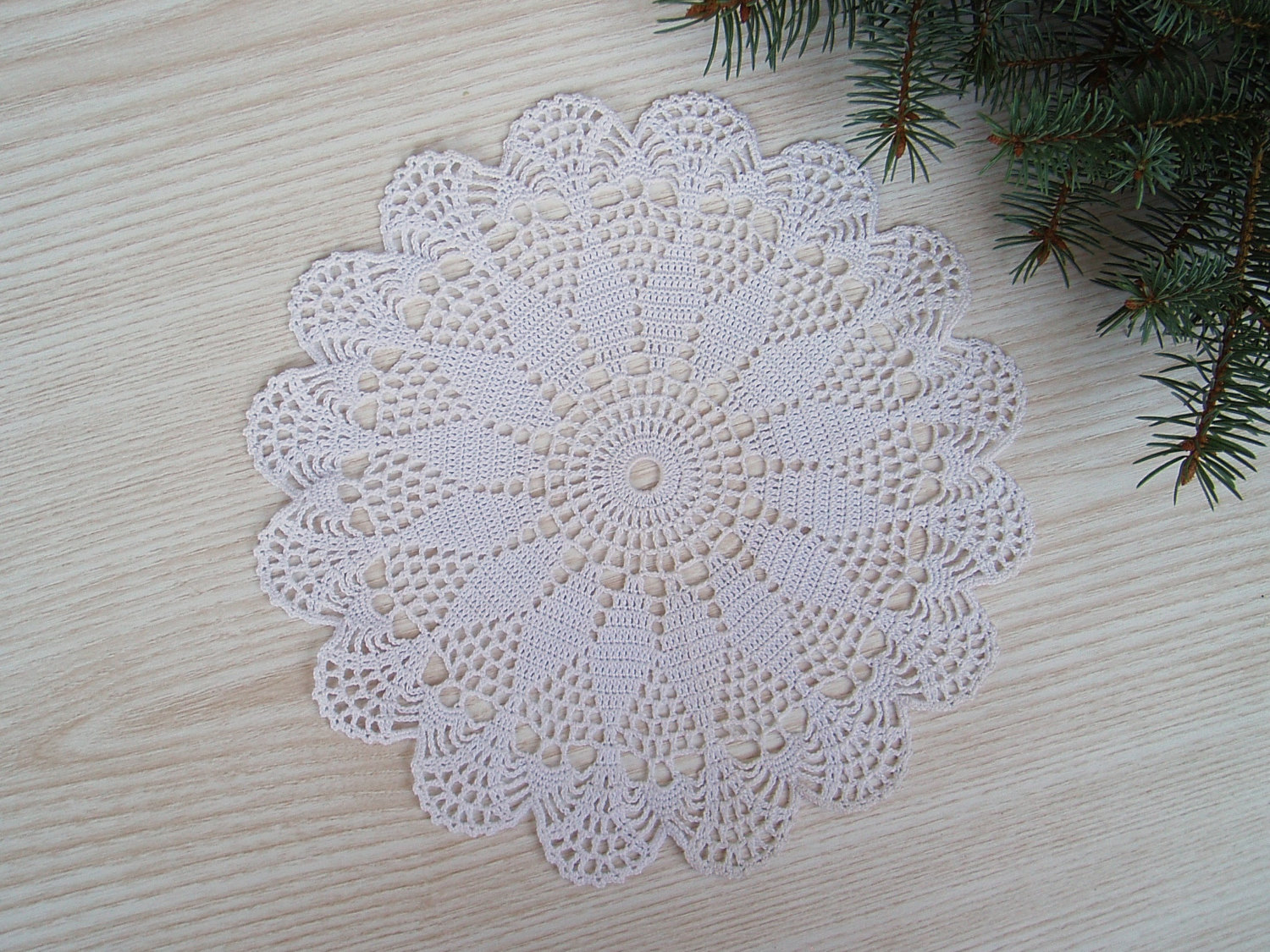 lace crochet white round doily crochet centerpiece lace crochet table decor crochet white. Black Bedroom Furniture Sets. Home Design Ideas