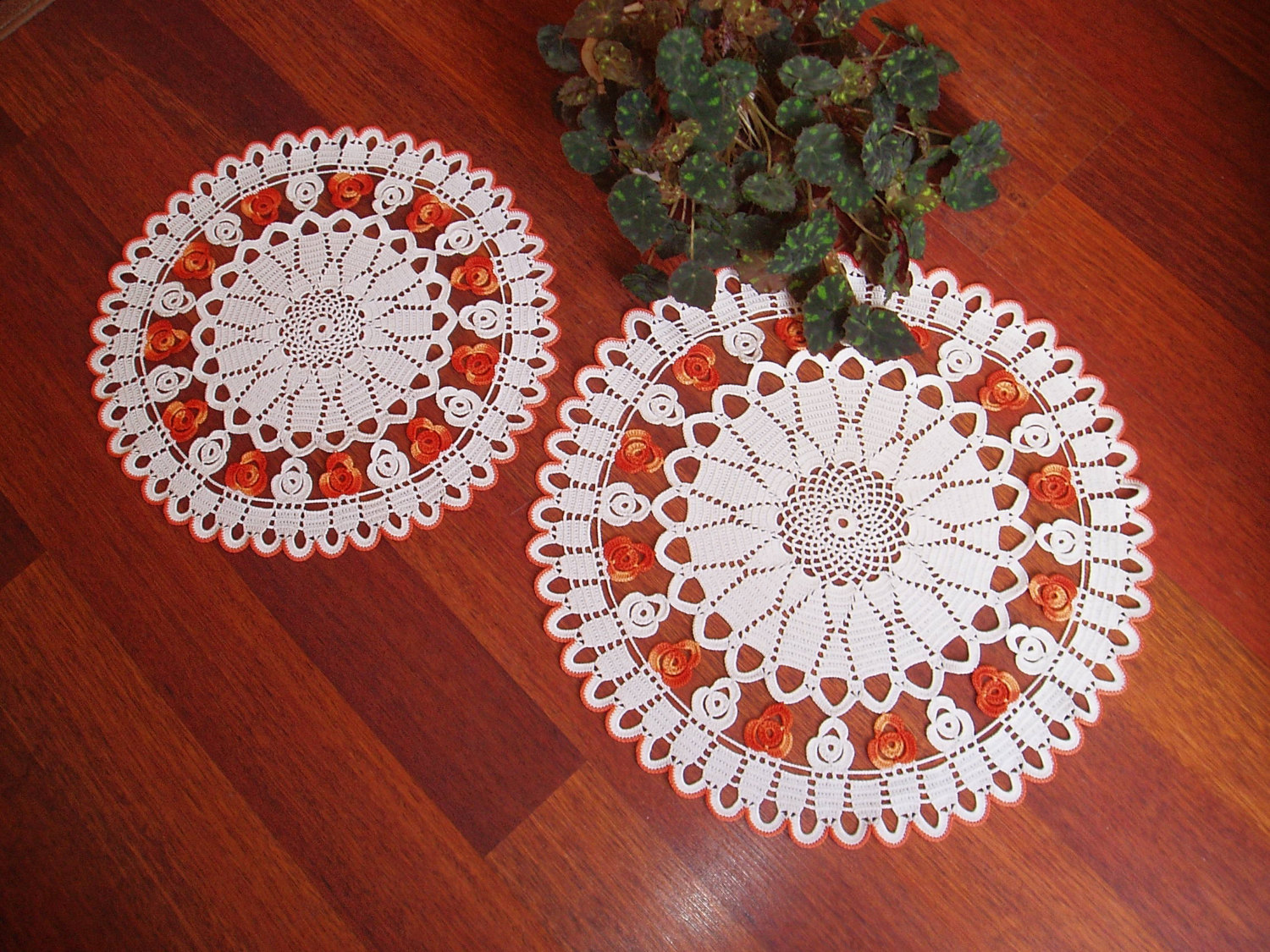 table doilies. OLYMPUS DIGITAL CAMERA; CAMERA Table Doilies 2